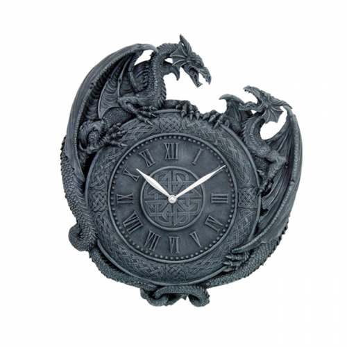 Vampires Kitchen Nemesis Now Dragon Duel Clock