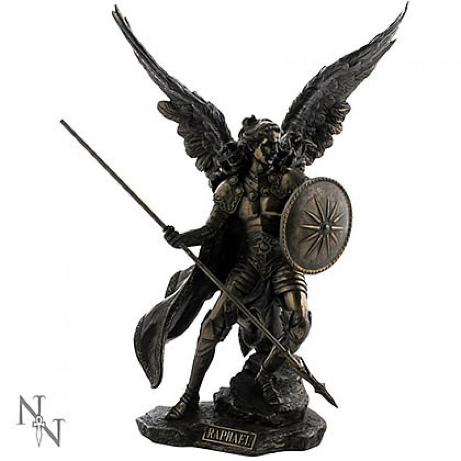 St Raphael Archangel Statue: Nemesis Now Archangel Raphael