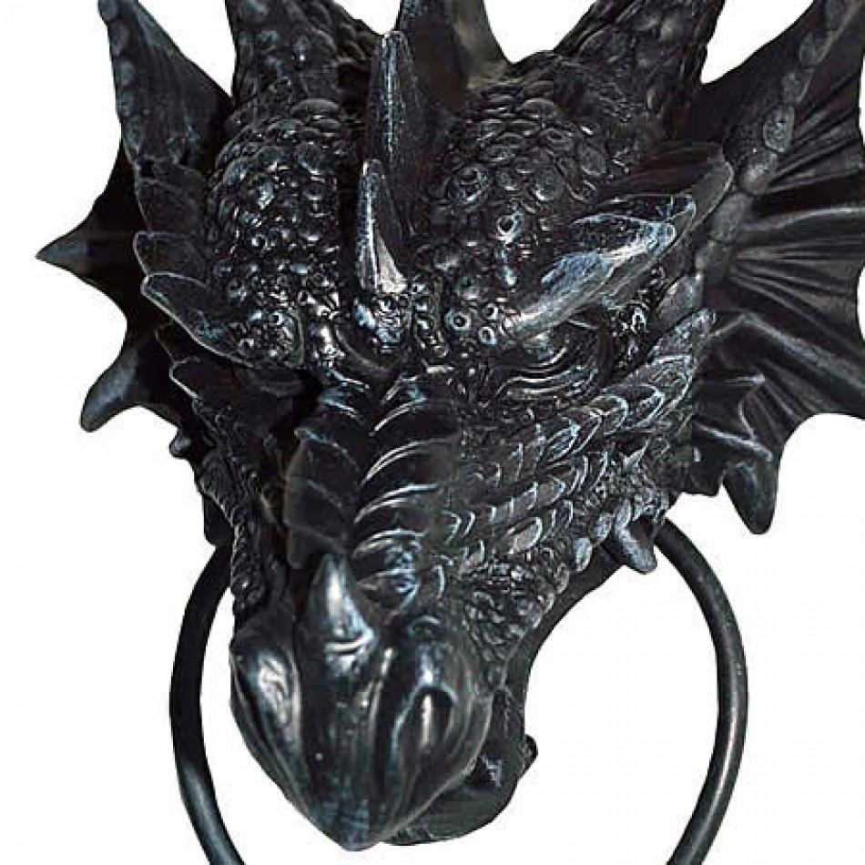 Vampires kitchen nemesis now dragon door knocker - Dragon door knockers ...