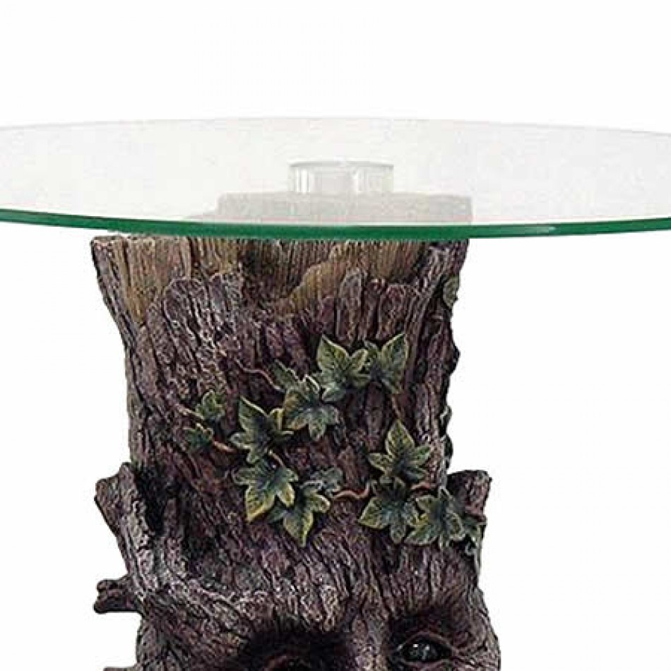 Vampires Kitchen Nemesis Now Forest Stump Glass Table