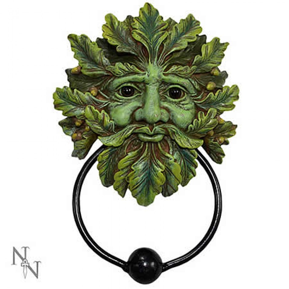 Vampires kitchen nemesis now green man door knocker - Greenman door knocker ...