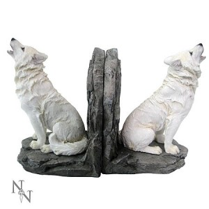 Vampires kitchen nemesis now offer a variety of gifts which come under the wolves category - Dire wolf bookends ...